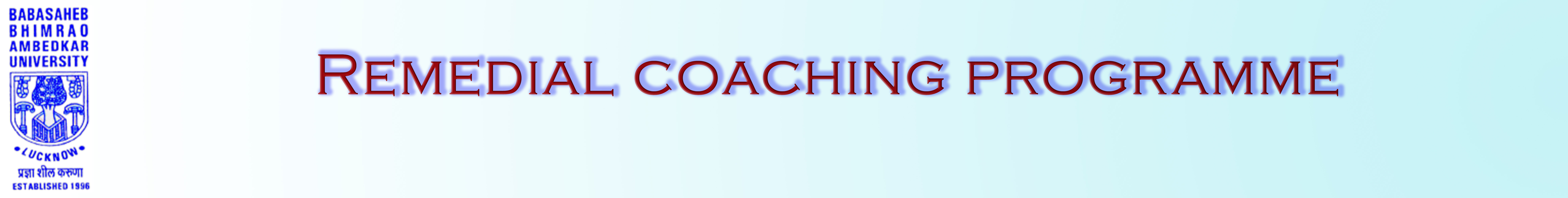 Remedial Coaching Centre (RCP)